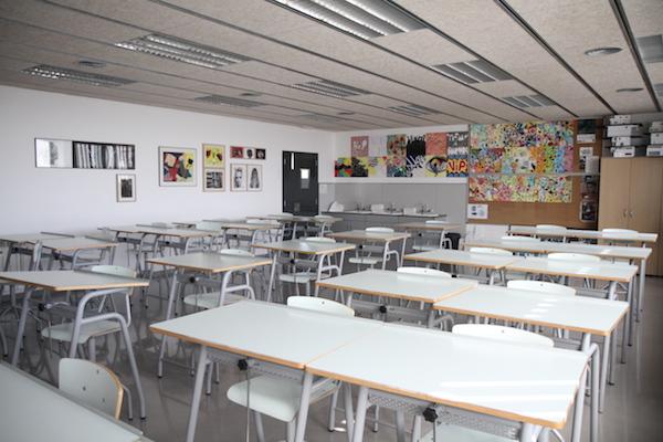 Aules de l'Escola Mertixell de Mataró
