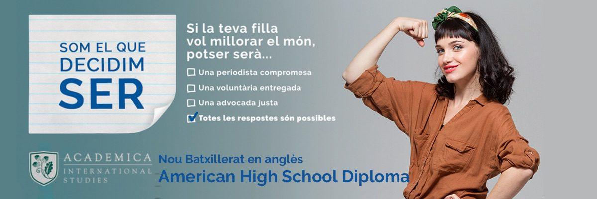 Batxillerat Dual en anglès Escola Meritxell Mataró