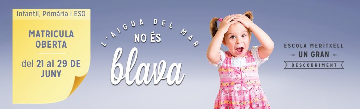 Matricula Infantil, Primaria i ESO Escola Meritxell Escola Mertixell Mataró