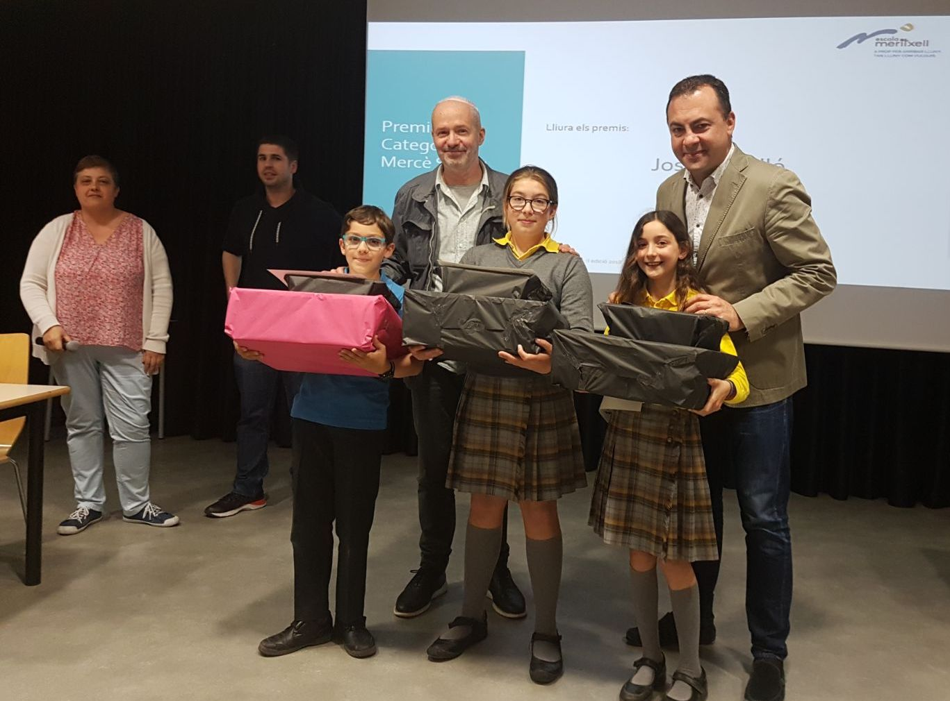 Premis ExACCT 2018 de l'Escola Meritxell de Mataró