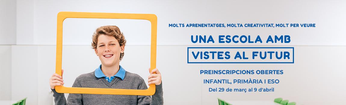 Preinscripcions 2019 ESO Escola Meritxell Mataró