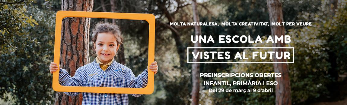 Preinscripcions 2019 Infantil Escola Meritxell Mataró