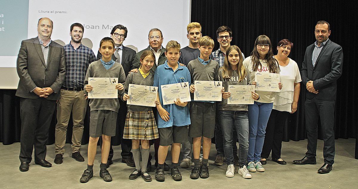 Guanyadors i Jurat dels Premis ExACCT de l'Escola Meritxell