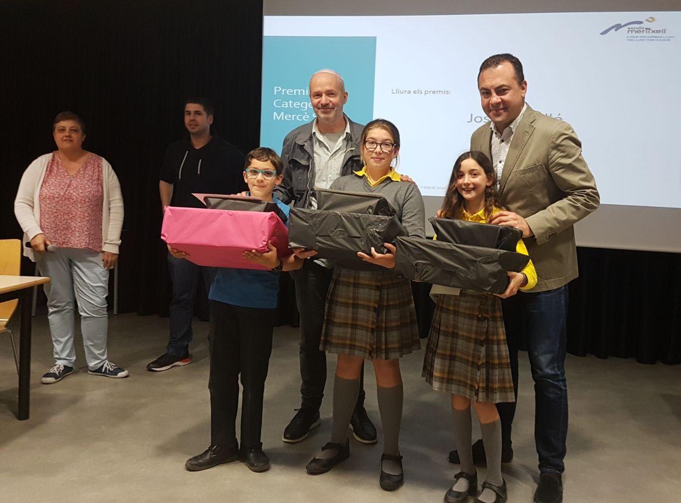 Premis ExACCT 2018 de l'Escola Meritxell de Mataró