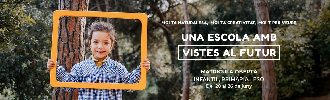 Matrícula 2019 Infantil Escola Meritxell Mataró