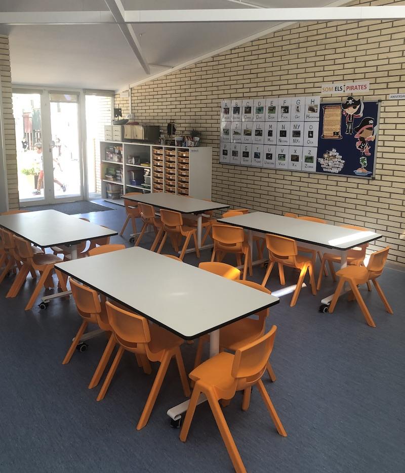 Nova aula d'Infantil