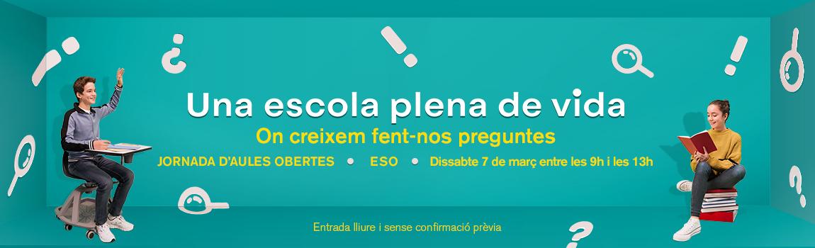 Jornades d'Aules Obertes 2020 ESO - Escola Meritxell de Mataró