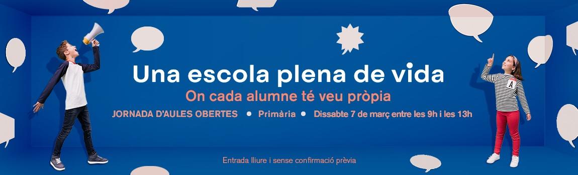 Jornades d'Aules Obertes 2020 Primària - Escola Meritxell de Mataró