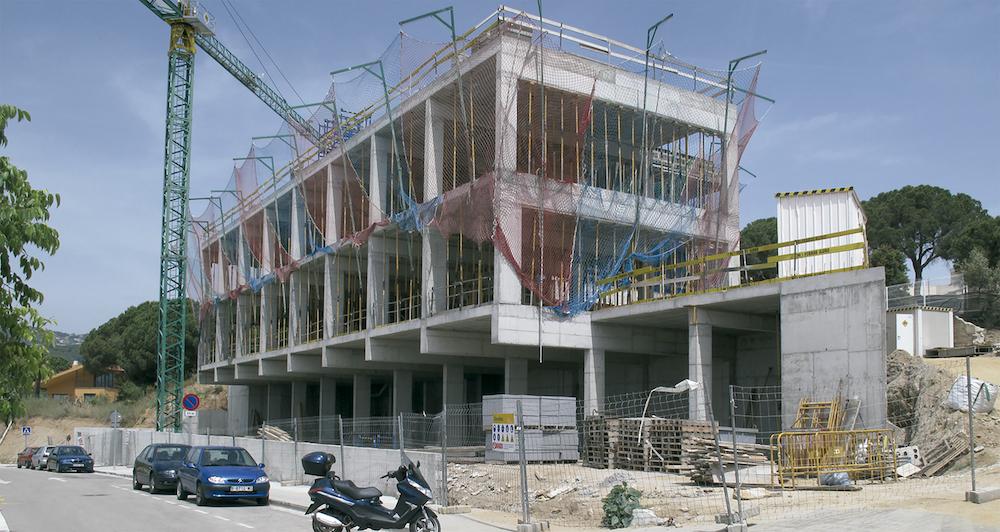 Contrucció Edifici Batxillerat Escola Meritxell